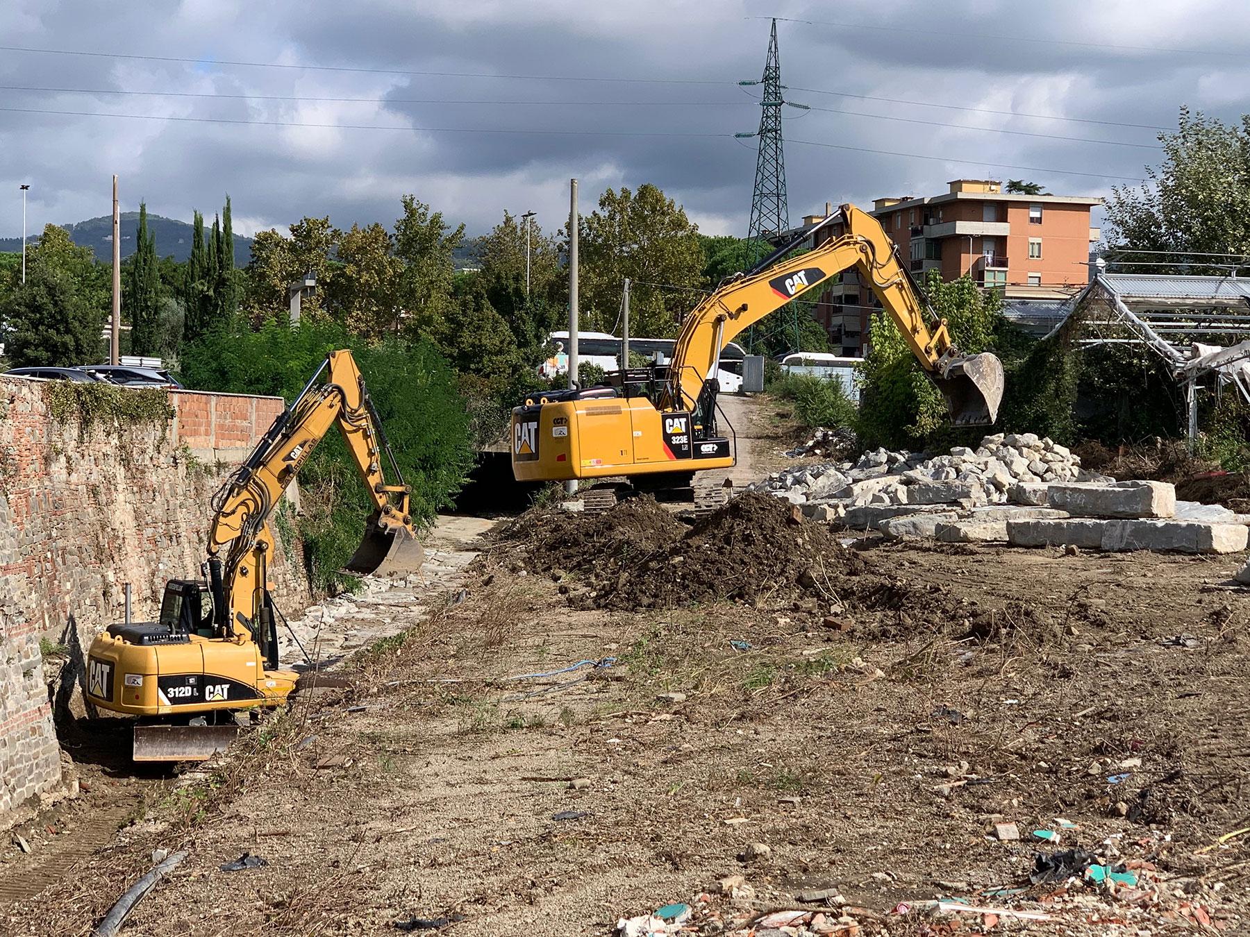 Immissione Torrente Mensola nel Fiume Arno
